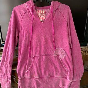 Billabong faded pink/purple hoodie